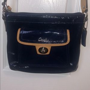 Coach leather crossbody bag!